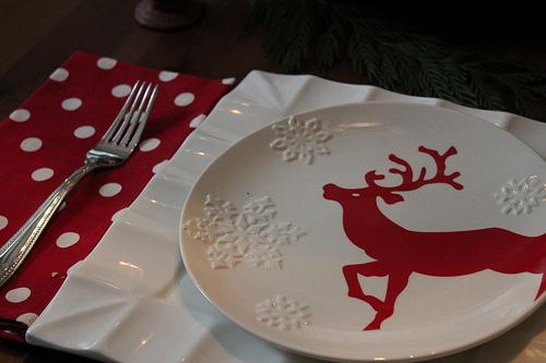 reindeer-plate
