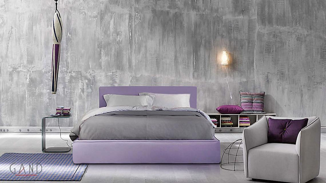 επενδυμένο κρεβάτι Harmony
