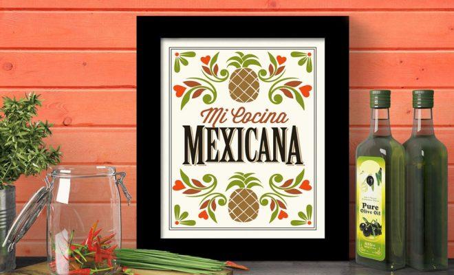 Κουζίνα Greek oil mexican kitchen