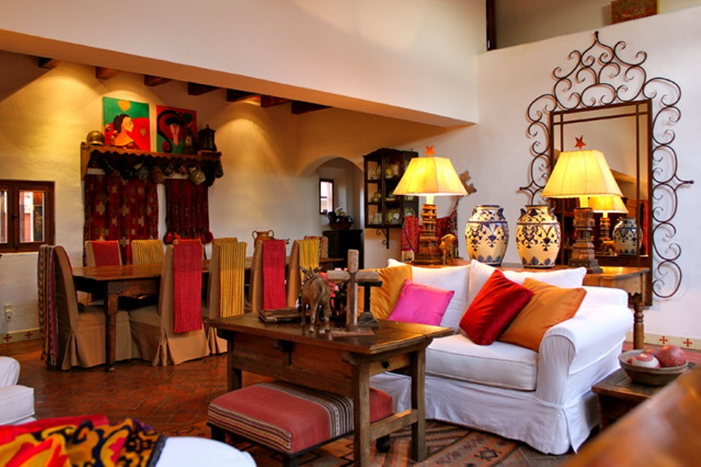 living room mexican
