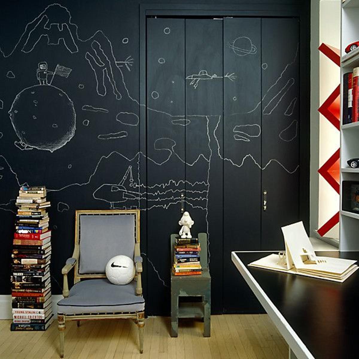 wordrobe black board