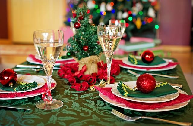 τραπέζι χριστούγεννα
