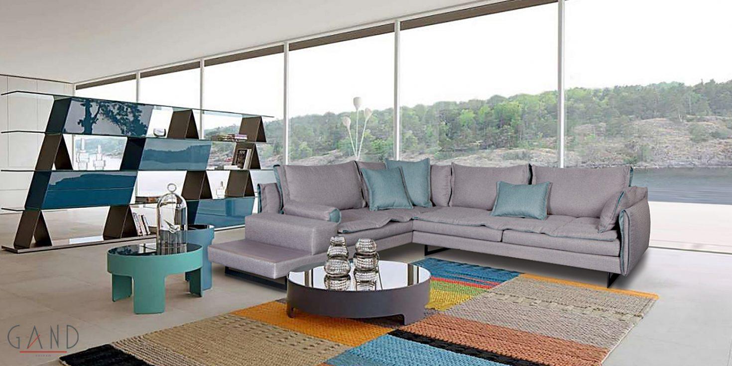 Γωνιακός καναπές Double 138687