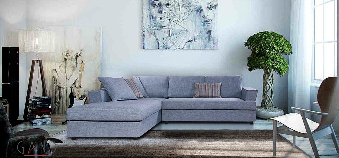 Γωνιακός καναπές Smooth