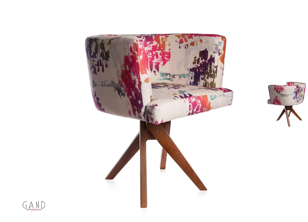 Καρέκλα Πολυθρόνα Floral