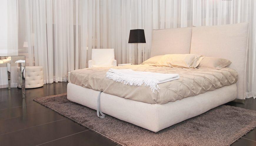 Κρεβάτι Trol με επένδυση