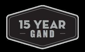 15 χρόνια εγγύηση GAND