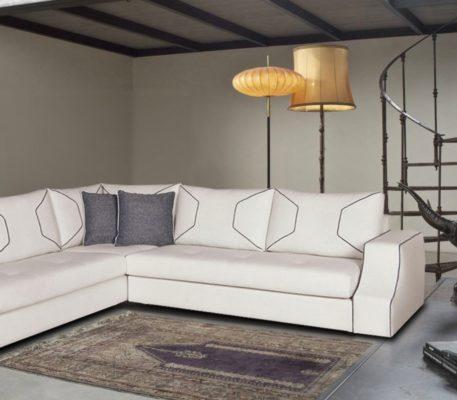 Γωνιακός καναπές Lady 1211976