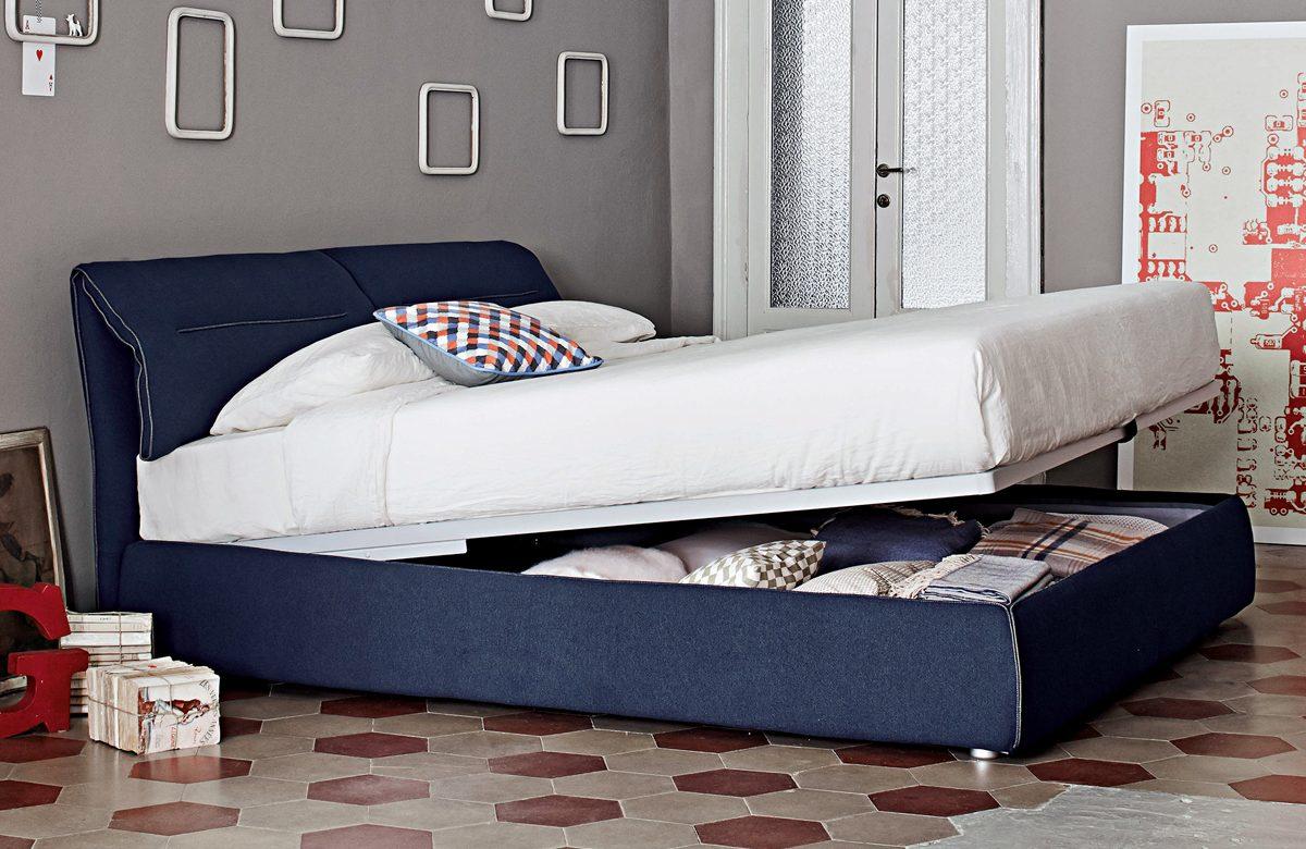Κρεβάτι με αποθηκευτικό χώρο Depi 011286