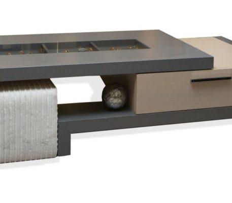 Τραπεζάκι σαλονιού Grey 876588