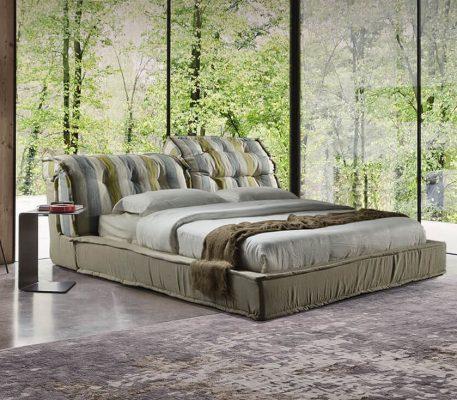 Κρεβάτι επενδυΚρεβάτι επενδυμένο Dinaμένο Dina