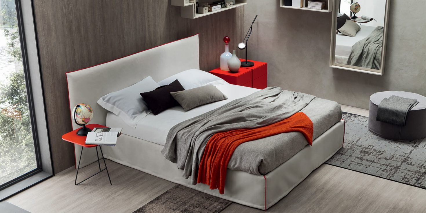 Κρεβάτι επενδυμένο Filler