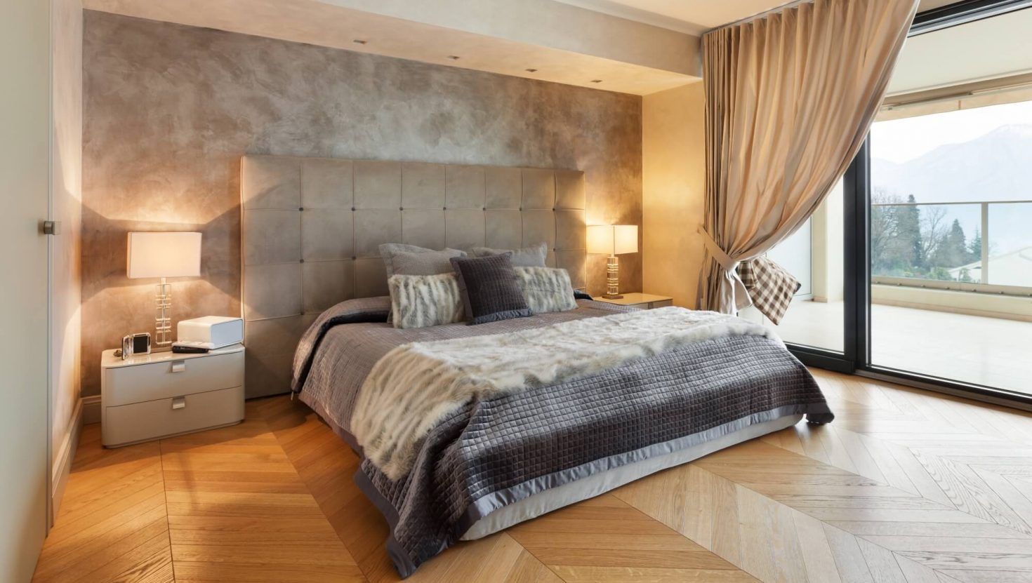 Κρεβάτι επενδεδυμένο Grand