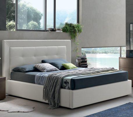Κρεβάτι επενδυμένο Rubina