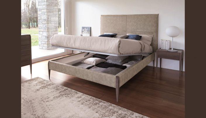 Κρεβάτι επενδυμένο Torre