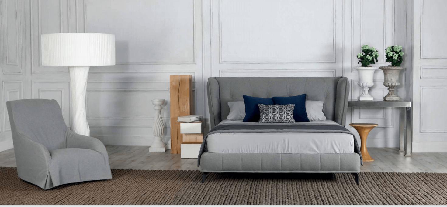 Κρεβάτι επενδυμένο Eternity