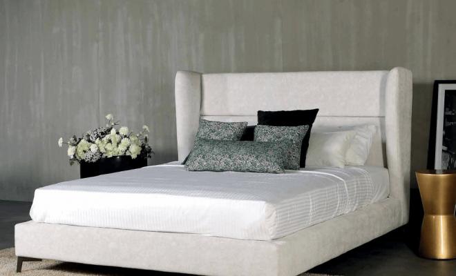 Κρεβάτι επενδυμένο Jadet