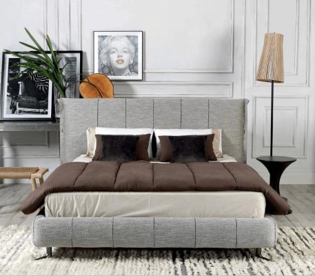 Κρεβάτι επενδυμένο Nubia
