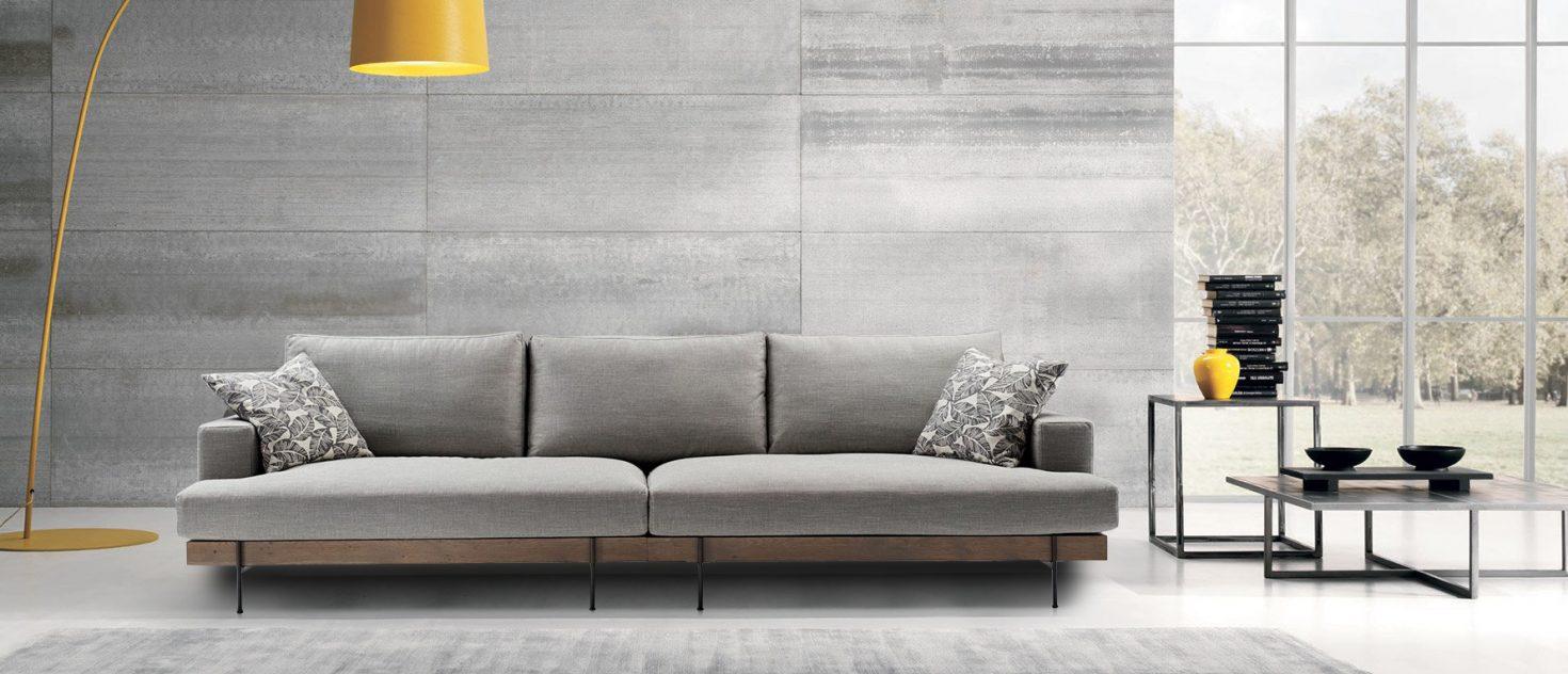Τριθέσιος καναπές Slim